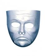 Weiße Gesichts Maske Tragödie
