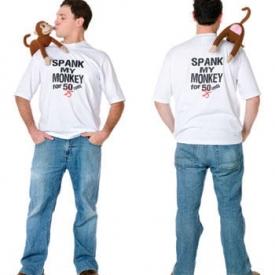 Spank My Monkey T Shirt