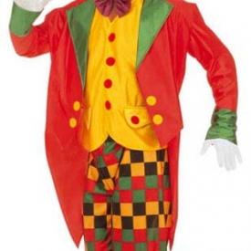 Clown Kostüm mit Frack M