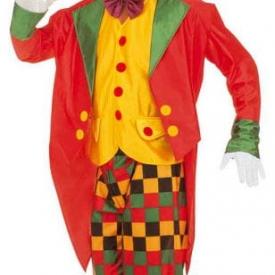 Clown Kostüm mit Frack L