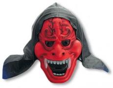 Rote Dämonen Maske