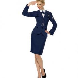 40s Airforce Captain Kostüm