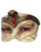 Ägyptische Pharaonin Latex Halbmaske