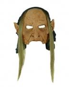 Latex-Maske Zigeuner Hexe