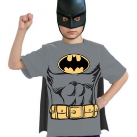 3tlg. Batman Kostüm-Set