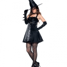 Bezaubernde Hexe Premium Kostüm L