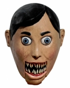 Maske böse Bauchredner Puppe