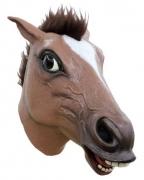 Latexmaske Pferdekopf
