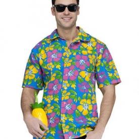 Hawaii Hemd mit Blumenmuster