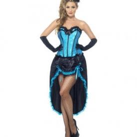 Burlesque Tanzerin Verkleidung