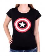 Captain America Frauen T-Shirt The Shield
