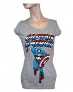 Captain America Frauen T-Shirt