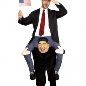 Huckepack Kostüm Kim Jong-un
