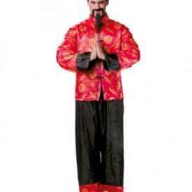 Herrenkostüm Chinesischer Mandarin