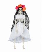 Tag der Toten Skelett Braut Hängefigur