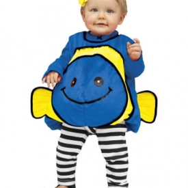 Dory Goldfisch Babykostüm Blau