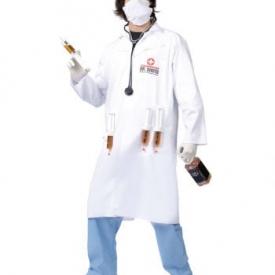 Dr. Shots Arzt Kostüm