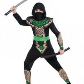 Drachenkämpfer Ninja Kostüm
