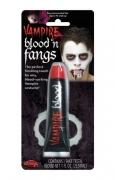 Vampirzähne Economy mit Blut
