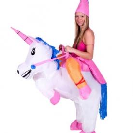 Einhorn Huckepack Kostüm