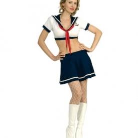 First Class Marine Offizierin Kostüm
