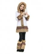 Süßes Eskimo Mädchen Kostüm