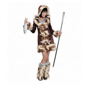 Eskimo Lady Kostüm Set