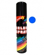 Blaues Haarspray