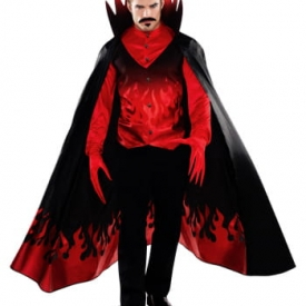 Flammen Diabolo Kostüm