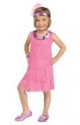 Flapper Mädchen Kleinkinderkostüm