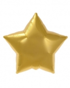 Goldener Folienballon Stern
