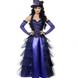 Glamour Hexe Damenkostüm