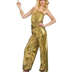 Goldener Diva Jumpsuit