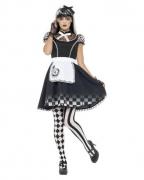 Dunkle Alice Frauen Verkleidung
