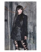 Gothic Jacke mit Schwalbenschwanz