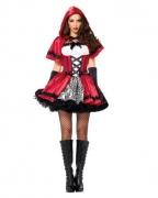 Düsteres Rotkäppchen Kostüm