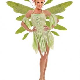 Waldelfen Kostüm Grün Large