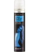Blaues UV Haar und Körper Spray