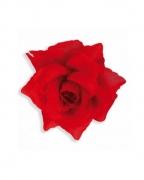 Haarspange mit Roter Rose