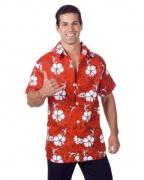 Rotes Hawaii Hemd