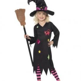 Kleine Hexe Kleinkinderkostüm