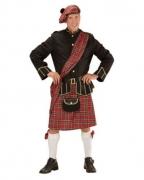 Schotten Highlanderkostüm mit Tasche