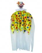 Horror Clown mit zappelnden Armen, Sound & Light
