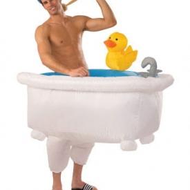 Kostüm aufblasbare Badewanne