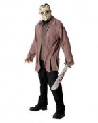 Jason Voorhees Maske und Fetzen-Shirt