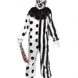 Killer Clown Kostüm für Teenager