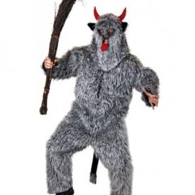 Flauschiges Monster Kostüm