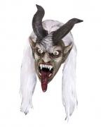 Schrecklicher Krampus Maske