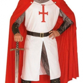 Kreuzritter Kostüm XL