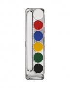 Kryolan Aquacolor Make-up Palette mit 6 Farben